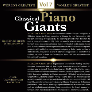 Classical - Piano Giants, Vol.7