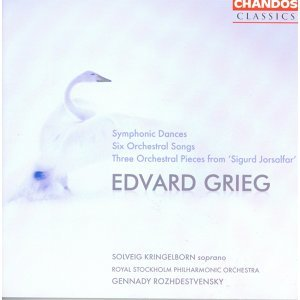Grieg: Symphonic Dances / 6 Orchestral Songs