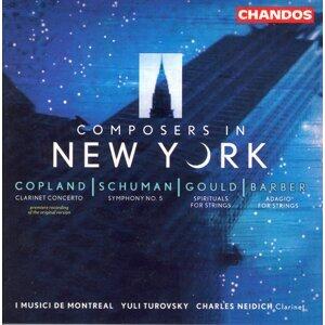 Copland: Clarinet Concerto / Gould: Spirituals / Schuman: Symphony No. 5