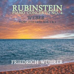 Rubinstein: Piano Concerto No. 4 - Weber: Piano Concerto Nos. 1 & 2