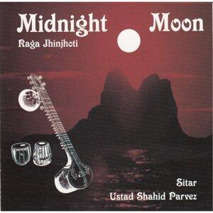 Midnight Moon Raga Jhinjhoti Sitar
