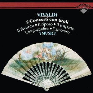 Vivaldi: 5 Violin Concertos