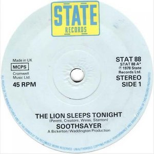The Lion Sleeps Tonights