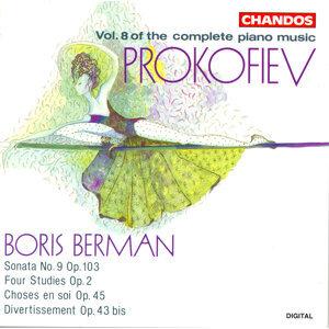 Prokofiev: Piano Works, Vol. 8