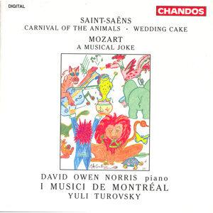 Saint-Saens: Carnival of the Animals / Wedding Cake / Mozart: A Musical Joke
