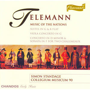 "Telemann: Suite in G Major, ""Les Nations Anciennes Et Modernes"" / Viola Concerto in G Major"