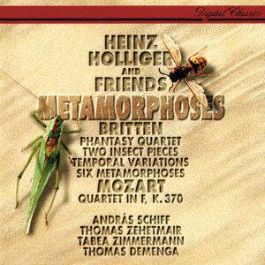 Britten: 6 Metamorphoses after Ovid; Temporal Variations; Phantasy; 2 Insect Pieces / Mozart: Oboe Quartet