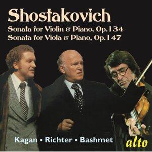 Shostakovich Sonatas Violin & Viola Op. 134 & 147