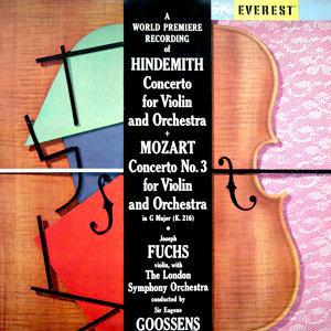 Hindemith: Violin Concerto - Mozart: Violin Concerto No. 3