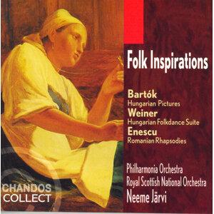 Bartok: Hungarian Pictures / Weiner: Hungarian Folkdance / Enescu: Romanian Rhapsodies