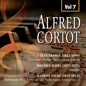 Alfred Cortot, Vol.7
