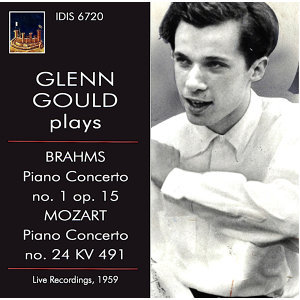 Brahms & Mozart: Piano Concertos (Live)