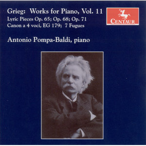 Grieg, E.: Piano Music, Vol. 11 - Lyric Pieces, Books 8-10 / 7 Fugues