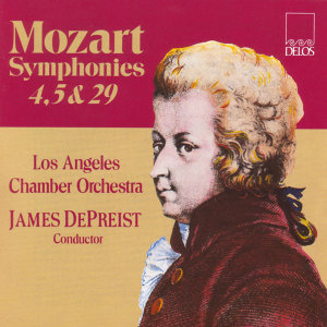Mozart, W.A.: Symphonies Nos. 4, 5 and 29