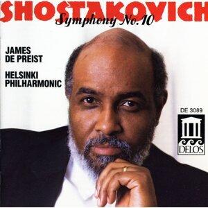 Shostakovich, D.: Symphony No. 10 / Festive Overture (Helsinki Philharmonic, Depreist)