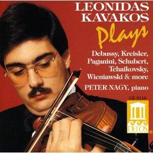 Violin Recital: Kavakos, Leonidas - Kroll, W. / Bazzini, A. / Kreisler, F. / Tchaikovsky, P. / Schubert, F. / Paganini, N. / Debussy, C.