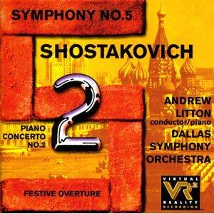 Shostakovich, D.: Piano Concerto No. 2 / Symphony No. 5 / Festive Overture