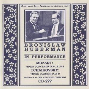 Bronislaw Huberman in Performance