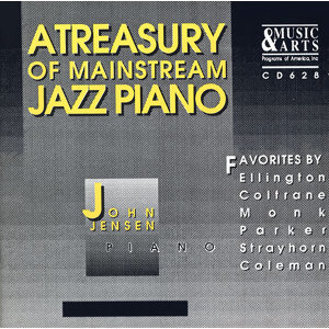 Jensen, John: Treasury of Mainstream Jazz Piano (A)