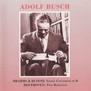 Brahms - Busoni:  Violin Concertos in D - Beethoven: 2 Romances