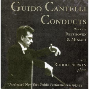 Guido Cantelli Conducts Beethoven and Mozart (1953-1954)