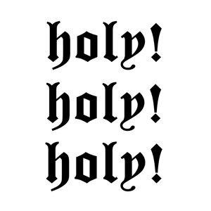 A&A's Holy! Holy! Holy!