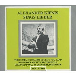 Alexander Kipnis Sings Lieder (1927-1936)