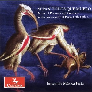 Vocal and Chamber Music (17Th-18Th Centuries) - Herrera, J. De / Cascante, J. / Cabanilles, J. / Marin, J. / Sanz, G. / Falconieri, A.