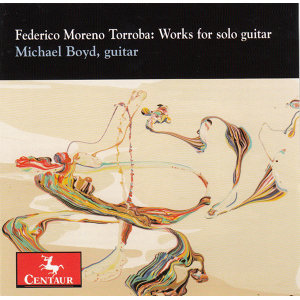 Moreno Torroba: Works for Solo Guitar