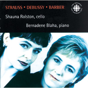 Strauss, R. / Debussy / Barber: Cello Sonatas