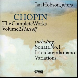 "Chopin: The Complete Works, Vol. 2, ""Hats Off"""
