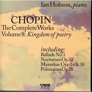 "Chopin: The Complete Works, Vol. 8, ""Kingdom of Poetry"""