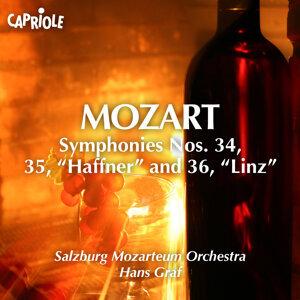 Mozart, W.A.: Symphonies Nos. 34-36