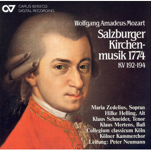 Mozart, W.A.: Dixit and Magnificat / Missa Brevis / Sancta Maria, Mater Dei