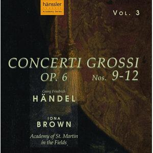 Handel: Concerto Grossi, Op. 6, Nos. 9-12