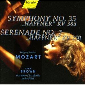 """Mozart: Symphony No. 35, """"Haffner"""" / Serenade No. 7, """"Haffner"""""""