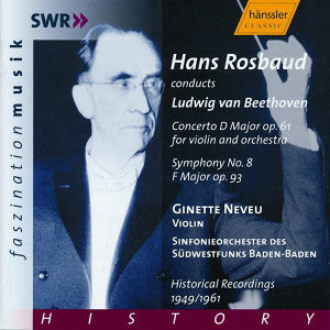 Beethoven: Violin Concerto, Op. 61 / Symphony No. 8 (Historical Recordings)