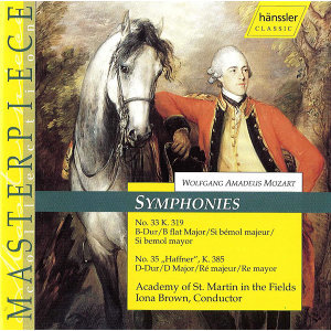"Mozart: Symphonies Nos. 33 and 35, ""Haffner"""