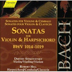 Bach, J.S.: Sonatas for Violin and Harpsichord, Bwv 1014-1019