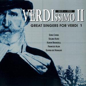 Verdissimo II: Great Singers for Verdi Vol. 1
