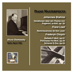 Piano Masterworks: Shura Cherkassky plays Brahms, Liszt and Chopin