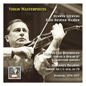 "Violin Masterpieces: Henryk Szeryng plays Beethoven: Sonata in A Major, Op. 47 ""Kreutzer"" - Brahms: Sonata No. 1 in G Major, Op. 78"