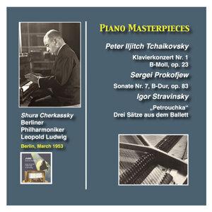 Piano Masterpieces: Shura Cherkassky plays Tchaikovsky, Prokofiev and Stravinsky