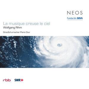 Rihm: La musique creuse le ciel - Über-Schrift