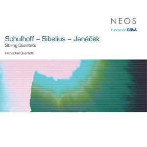 String Quartets: Schulhoff - Sibelius - Janáček