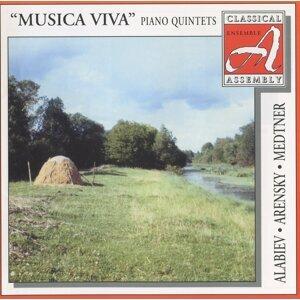Alabiev - Arensky - Medtner: Piano Quintets
