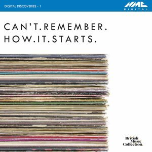Digital Discoveries, Vol. 1: Can't.Remember.How.It.Starts