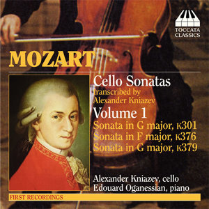 Mozart: Violin Sonatas Nos. 18, 24,  and 27 (Arr. for Cello)