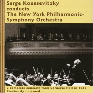 Serge Koussevitzky conducts The New York Philharmonic-Symphony Orchestra