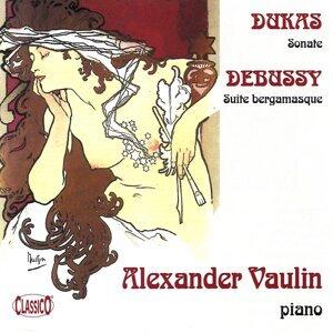 Debussy: Suite bergamasque - Dukas: Piano Sonata